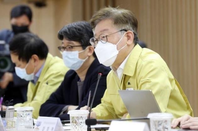 이재명 경기도지사, 정부의 선별지원 결정에 불편함 피력