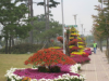인천서구, 수도권매립지 관리공사와 국화전시